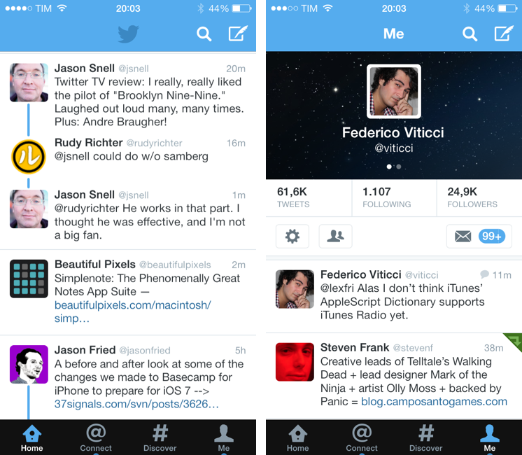 IOS 7 Updates: Twitter, Facebook, Yahoo Weather, And