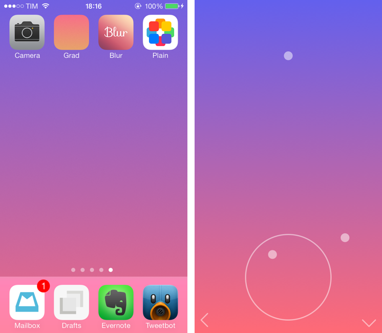 For The Colorful: Create iOS 7 Wallpapers From an iPhone or iPad